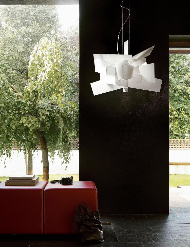 jeancel luminaires big bang suspension foscarini. Black Bedroom Furniture Sets. Home Design Ideas
