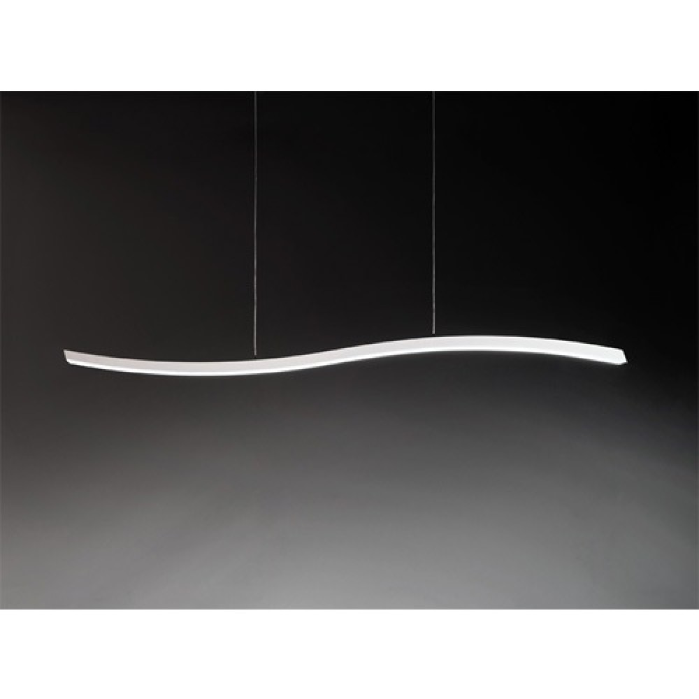jeancel luminaires serpentine suspension led fontana arte. Black Bedroom Furniture Sets. Home Design Ideas
