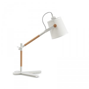 Lampe de table Nordica Blanche
