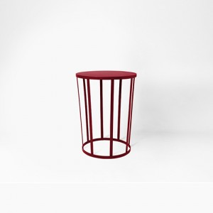 Tabouret HOLLO - bordeaux