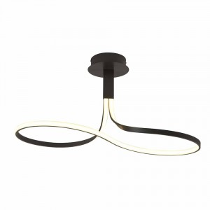 Suspension LED Nur marron