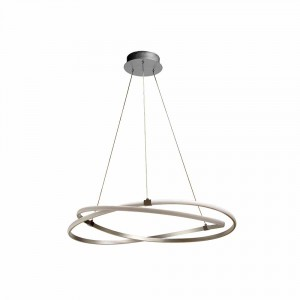 Suspension LED Infinity nickel D.51