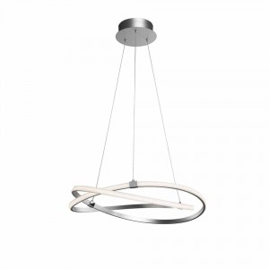 Suspension LED Infinity nickel