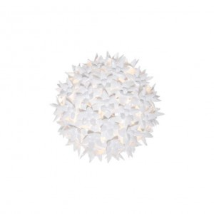 Bloom applique/plafonnier blanc D.28 - Kartell