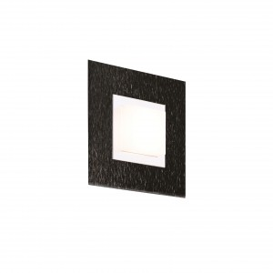Applique/plafonnier Led Basic 520lm Noir