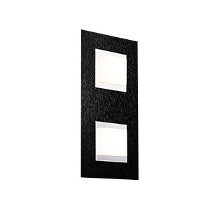 Applique/plafonnier Led Basic 2x520lm Noir