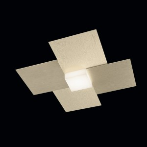Applique/Plafonnier LED Creo champagne
