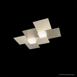 Applique/Plafonnier CREO 2 x LED - Champagne