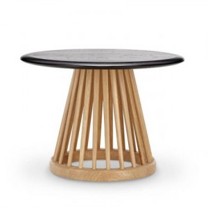 Table basse D.60 Fan Chêne Noir - Tom Dixon