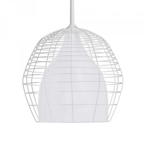 Suspension Cage Grande blanc - Diesel with Foscarini