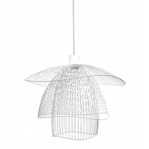 Suspension Papillon S D.56 blanc - Forestier