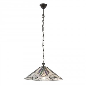 Suspension Tiffany Astoria D.48 60W