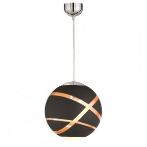Suspension Faro D.30 noir et or