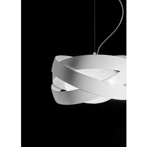 Suspension Siso blanche D.48