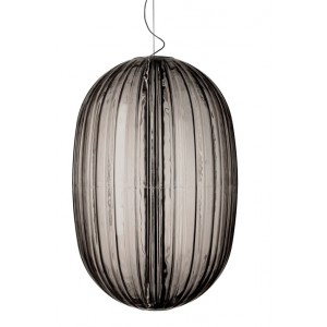 Plass Media suspension grise - Foscarini