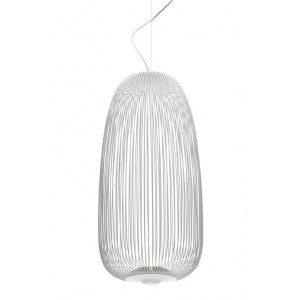 Spokes 1 suspension blanc - Foscarini
