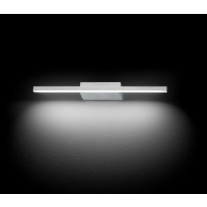 Applique murale Forte Led 2x6.4W alu