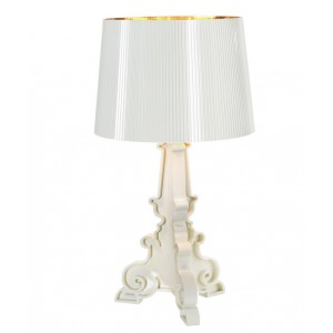 Bourgie lampe blanc or - Kartell