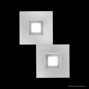 Applique / Plafonnier KARREE 2 x LED - Titan