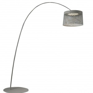Lampadaire Outdoor Twiggy Grid Gris