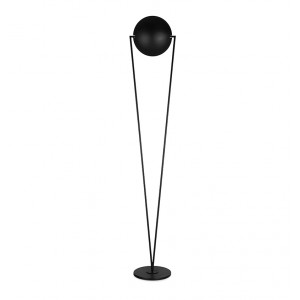 Lampadaire LED Victory Noir Lumen Center