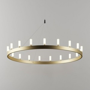 Suspension Chandelier D.150 - Fontana Arte - Laiton