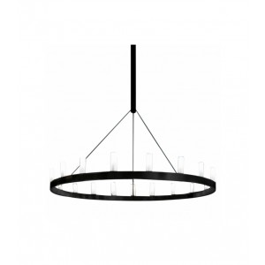 Suspension Chandelier D.90 - Fontana Arte - Noir