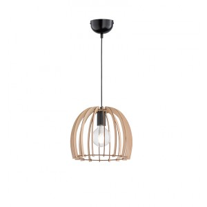 Suspension Wood bois naturel D.30