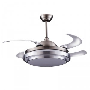 Ventilateur de plafond Klon Nickel