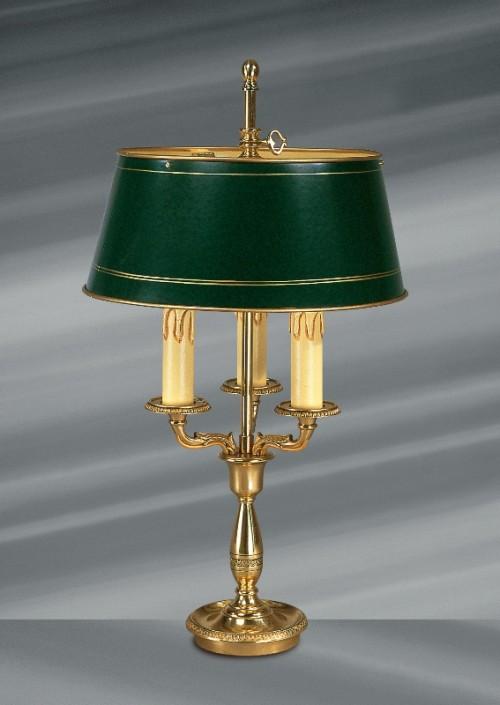 Lampe bouillotte Empire ABJ vert 3L