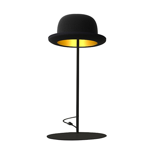 Lampe à poser Jeeves - noir/or
