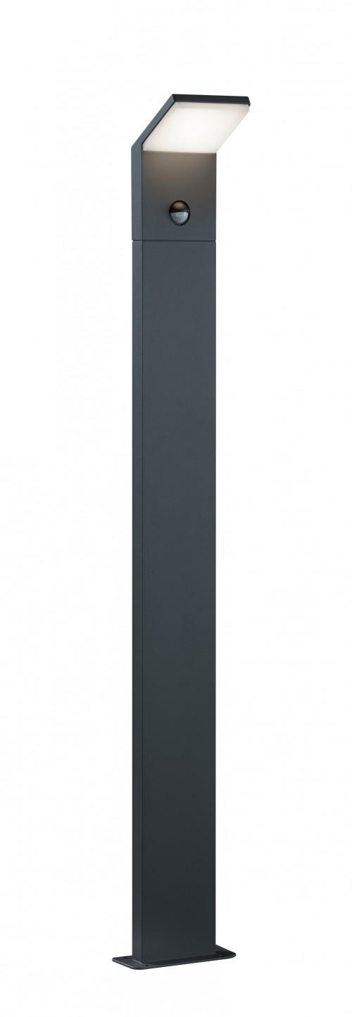 Borne extérieure Pearl H.100 avec détecteur - Trio Leuchten