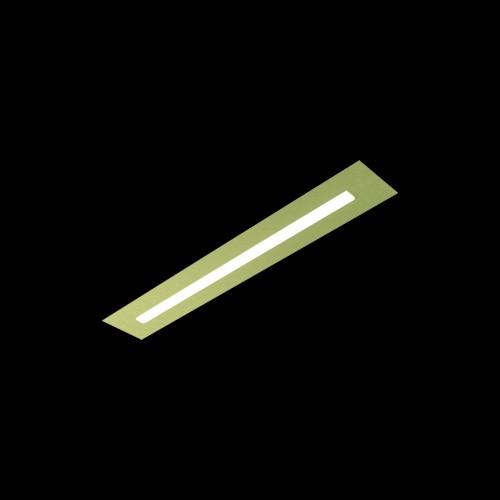 Applique LED Fis 12.8W laiton mat
