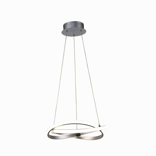 Suspension LED Infinity D.30 nickel