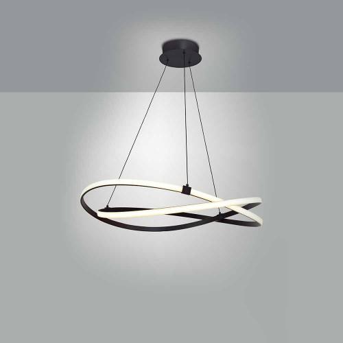 Suspension LED Infinity marron