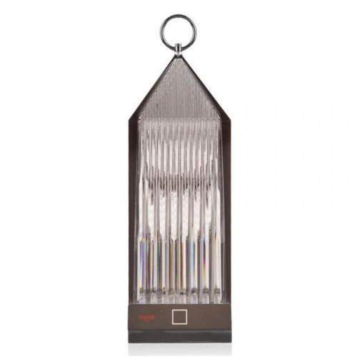 Lampe sans fil LED Lantern Fumé - Kartell