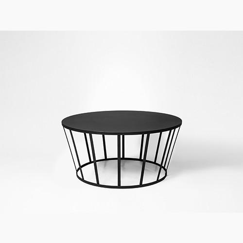 Table basse HOLLO - noir D.70