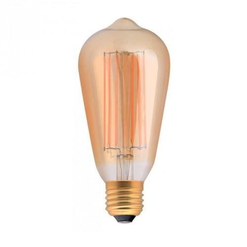 Ampoule LED Edisson E27 2W ambrée