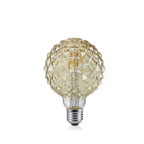 Ampoule LED Globe Cristal doré - 4W 140 lumens
