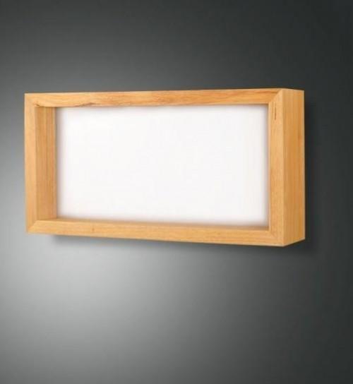 Applique Led Window rectangle - Chêne
