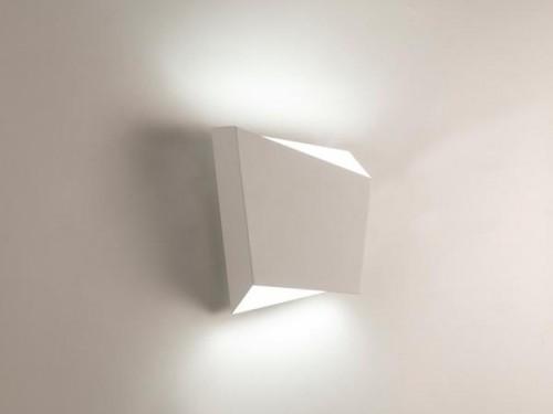 Applique Asimetric 20W Blanc