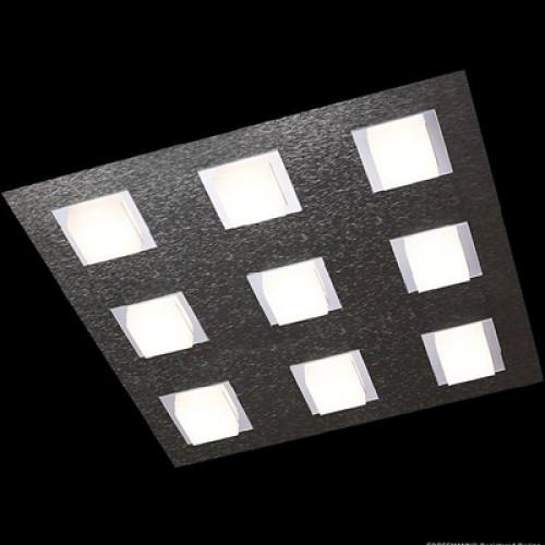 Plafonnier Led Basic 9x515lm Anthracite