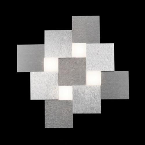 Plafonnier Creo 4x680lm aluminium