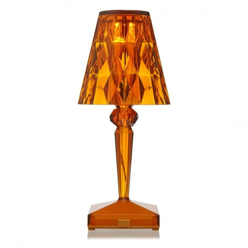 Battery Lampe Ambre - Kartell