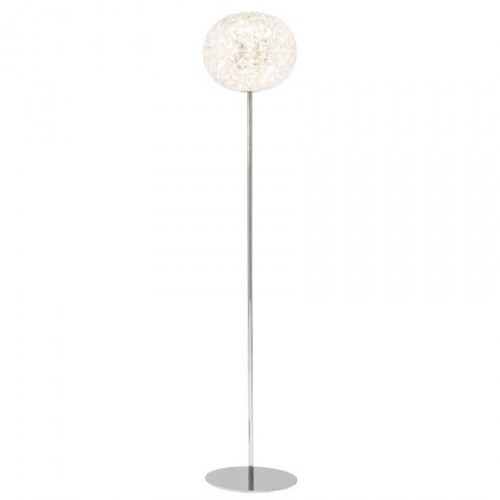 Lampadaire LED Planet H.160 Cristal - Kartell
