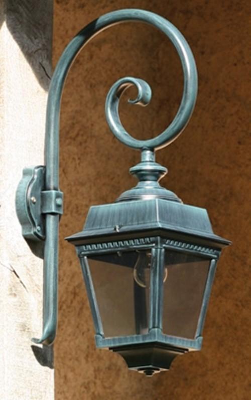 Applique Crosse extérieure Place des Vosges 1 avec détecteur