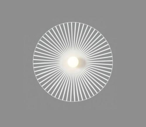 Applique Lucie - Harpo blanc - D.55 cm