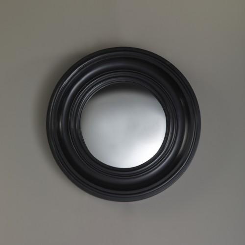Miroir Convex noir D.40