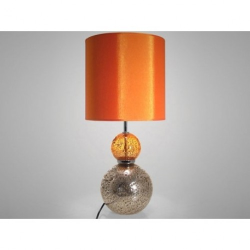 Lampe à poser Volcanique orange H.55