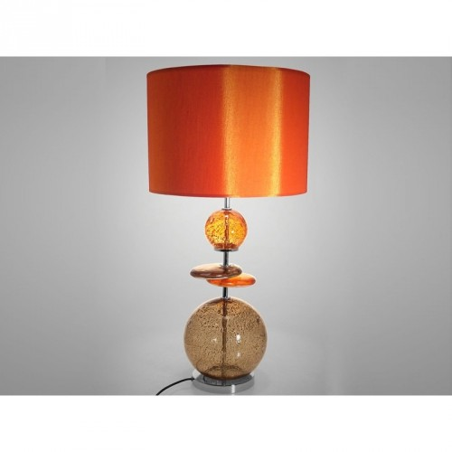 Lampe à poser Volcanique orange